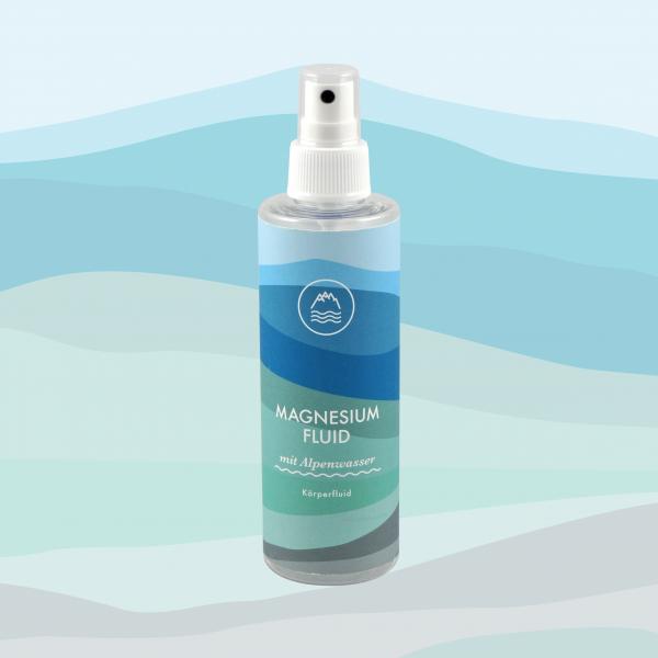 Magnesium Fluid mit Alpenwasser 200 ml